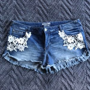 Lace Mossimo Jean Short
